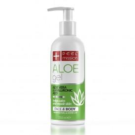 """Peel Mission Aloe Gel kojący żel-serum z aloesem """"opatrunek"""" dla skóry 250ml"""