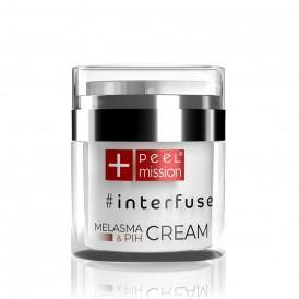 Peel Mission Interfuse MELASMA & PIH CREAM krem premium na przebarwienia 50ml